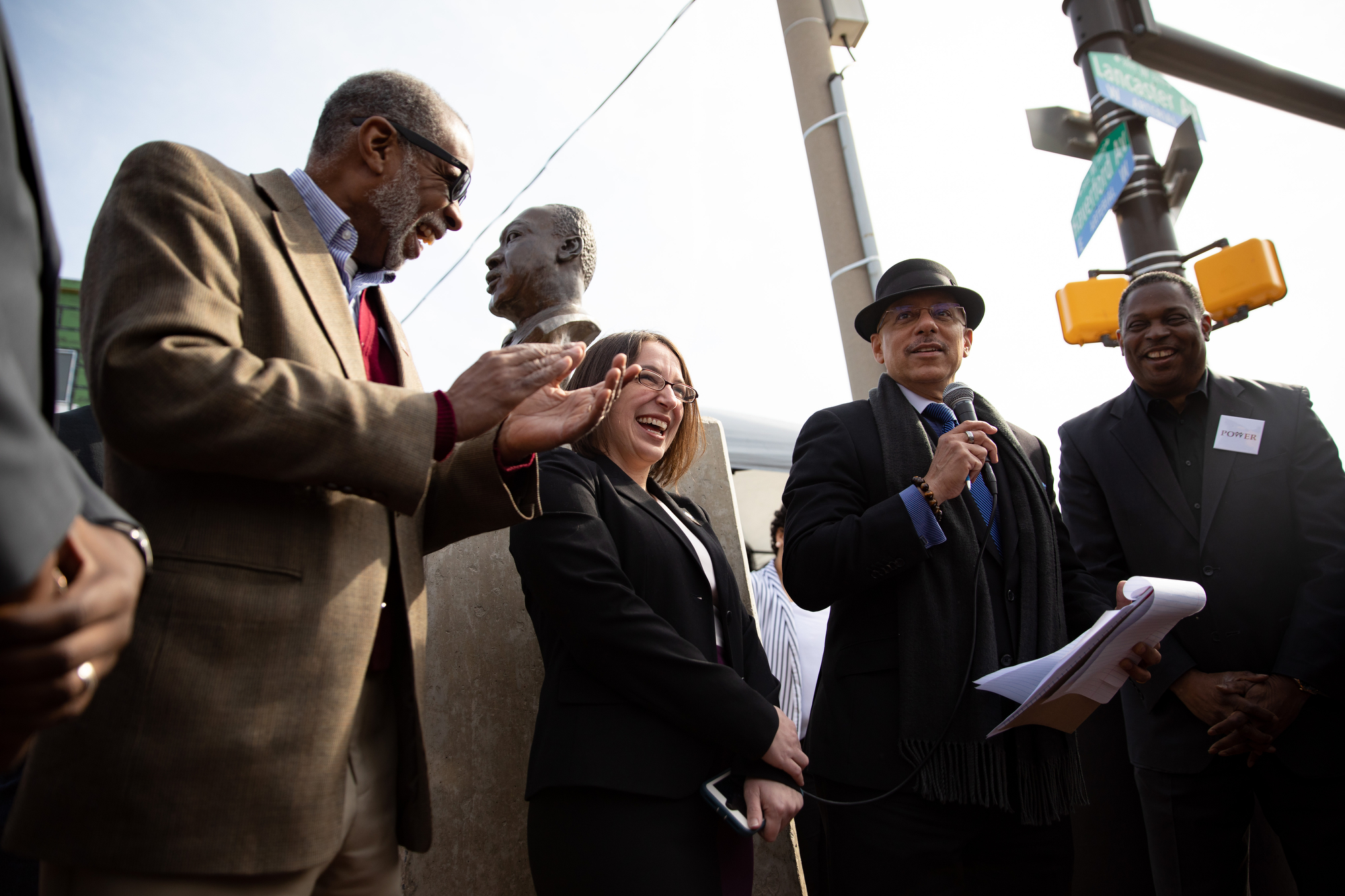 April 2, 2019: As a tribute to the legacy of the Rev. Dr. Martin Luther King Jr. and his fight for poor and working people, Senator Art Haywood joined members of the Pennsylvania Senate Democratic Caucus in the launch of a 30-day campaign to address poverty and economic insecurity in the commonwealth.