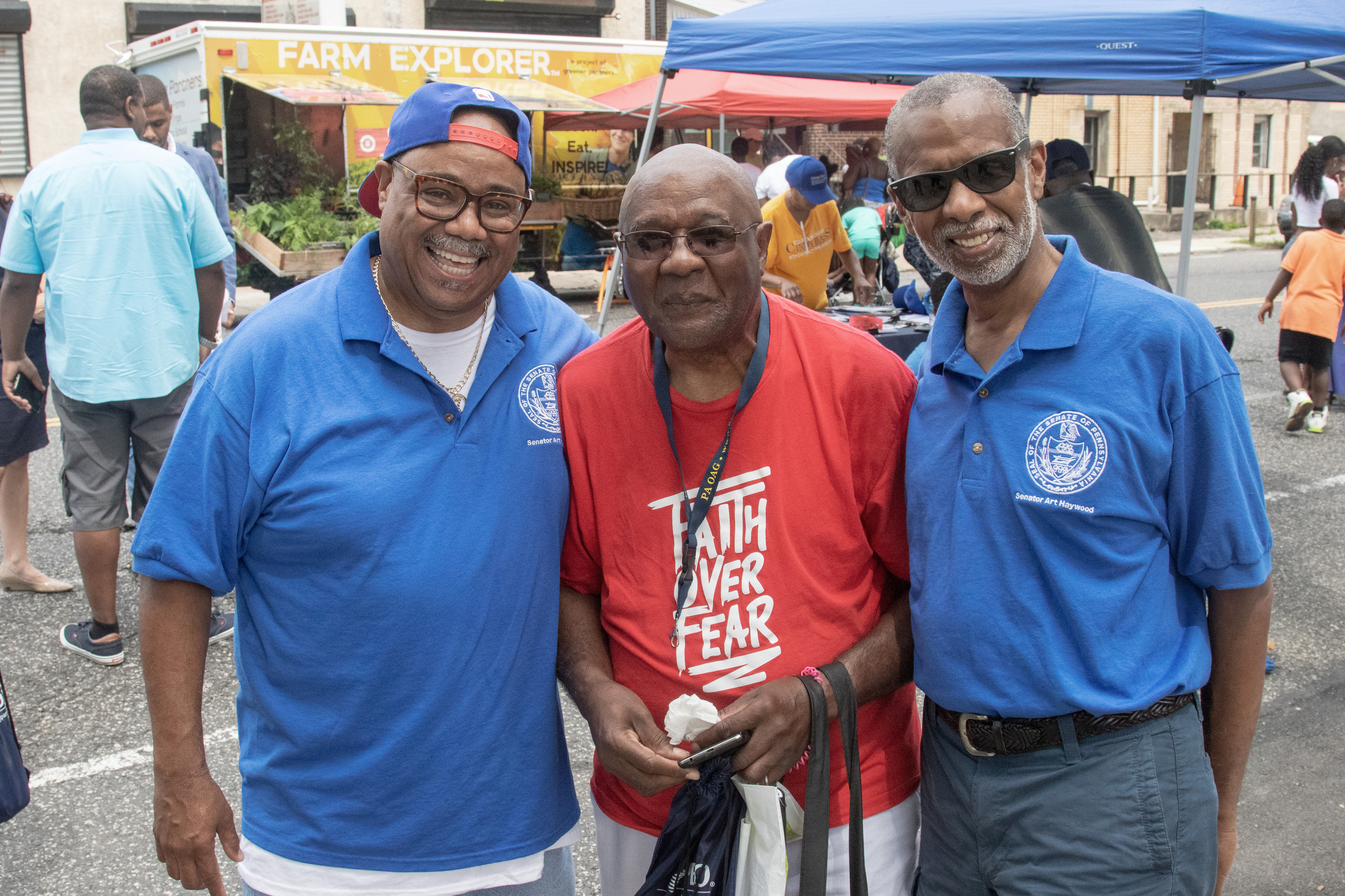 August 19, 2018: Senator Art Haywood hosted his annual Back to School Celebration.