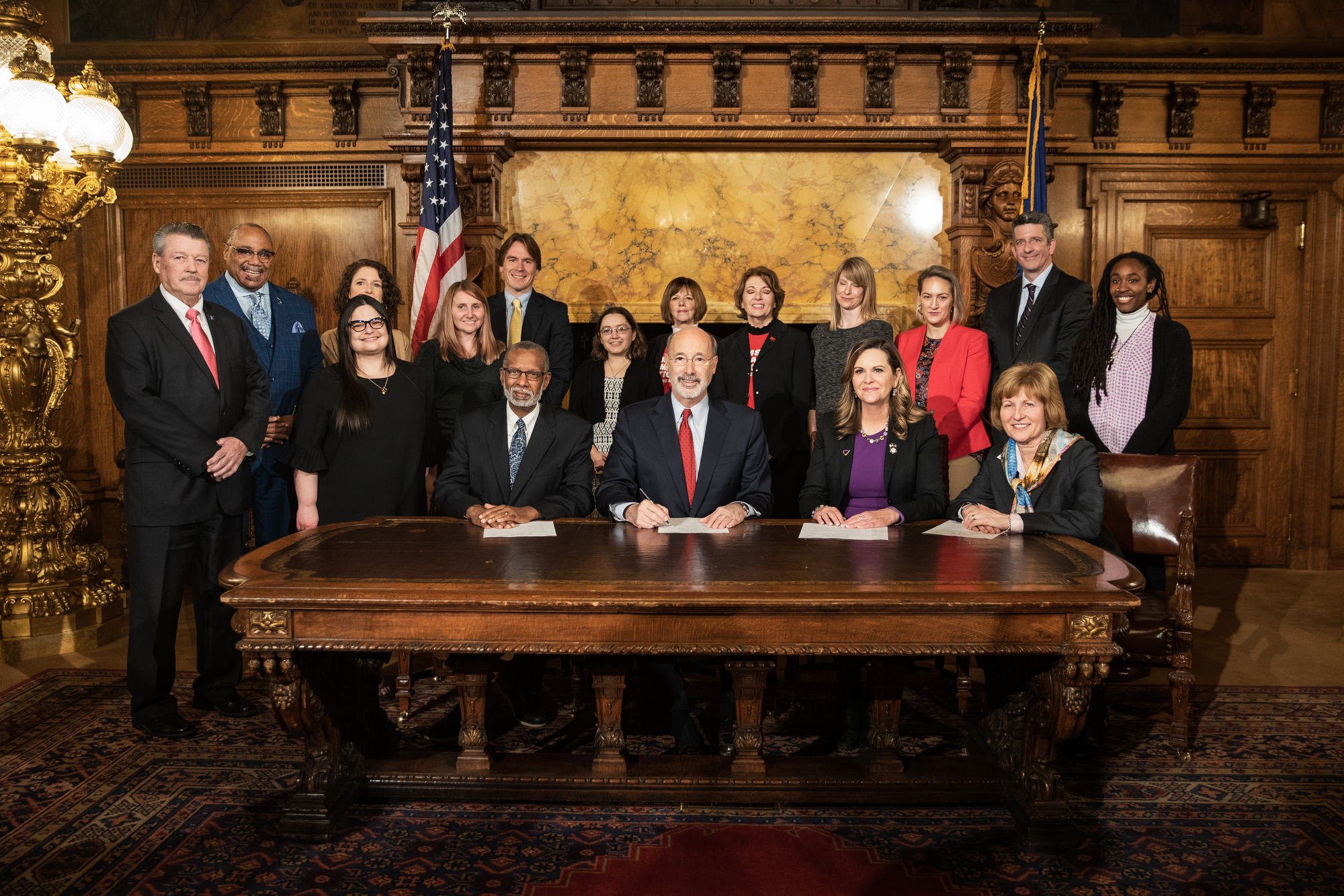 November 13, 2018: Governor Tom Wolf signs Senate Bill 919 - Domestic Violence in Public Housing Emergency Relocation.