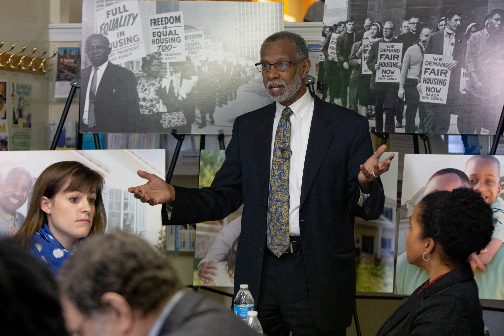 December 12, 2018 – State Senator Vincent Hughes and State Senator Art Haywood joined, activists, advocates, and community organizations for a roundtable discussion on the Fair Housing Act of 1968.