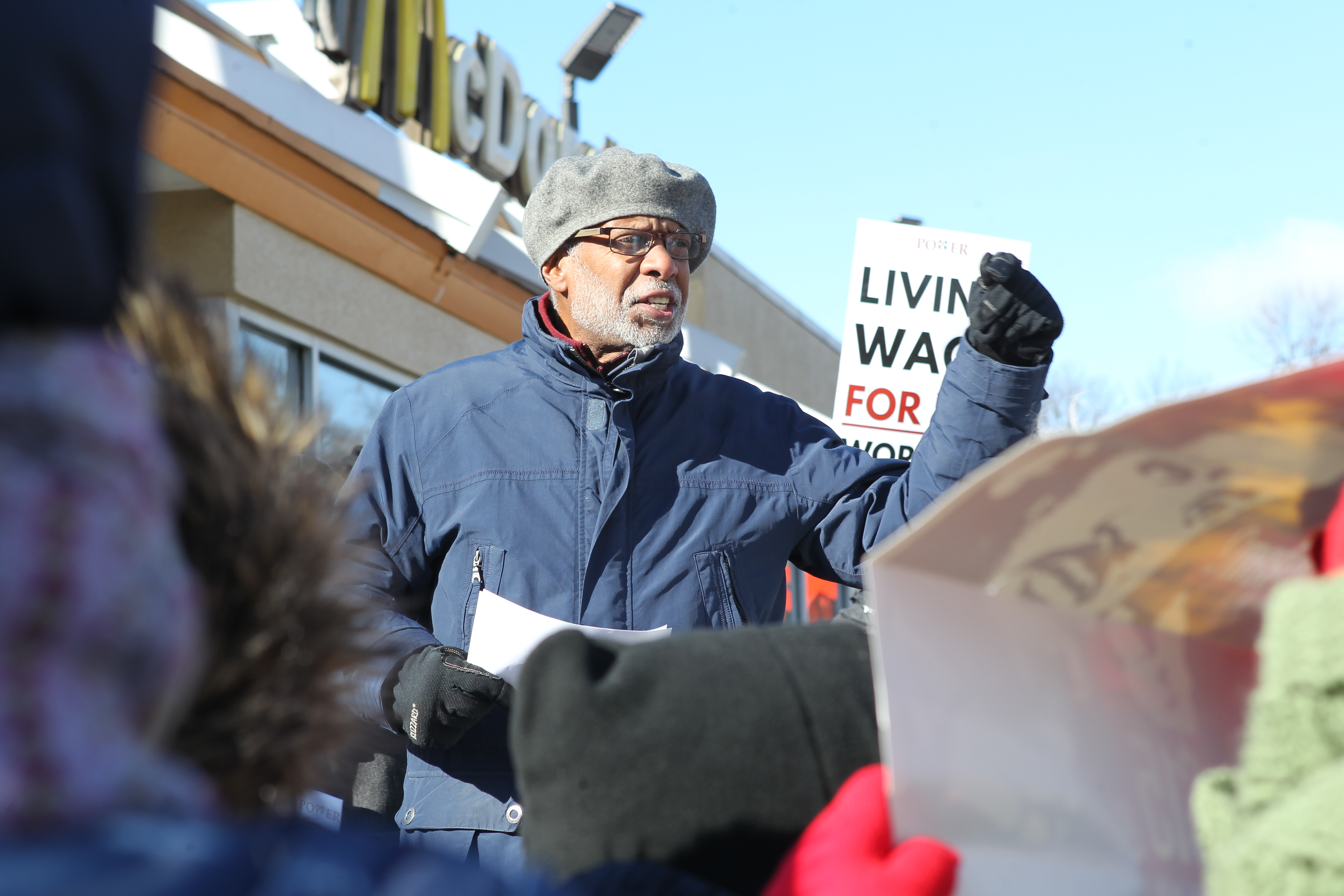 January 21, 2019 - Senator Haywood Hosts Raise the Wage Rally on MLK Day of Action