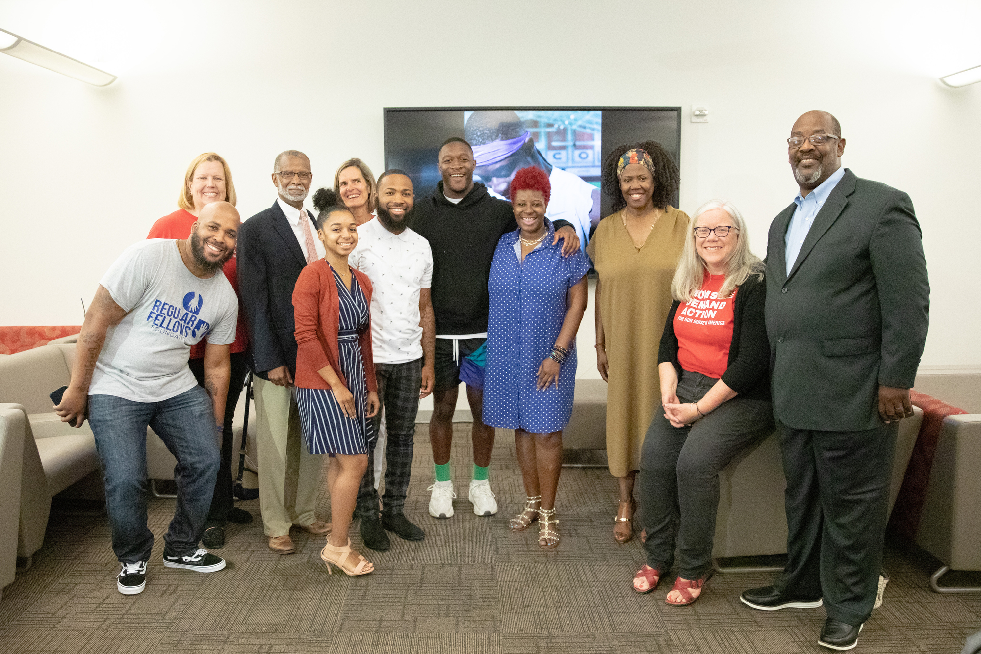 July 8, 2019: Senator Haywood joins Will Parks, Darnell Artis, Philadelphia CeaseFire, The Regular Fellows Foundation, Philadelphia Parks and Recreation, and Elder Harrison for the announcement of Ahead of the Game a basketball league being implemented to combat community violence in Northwest Philadelphia.