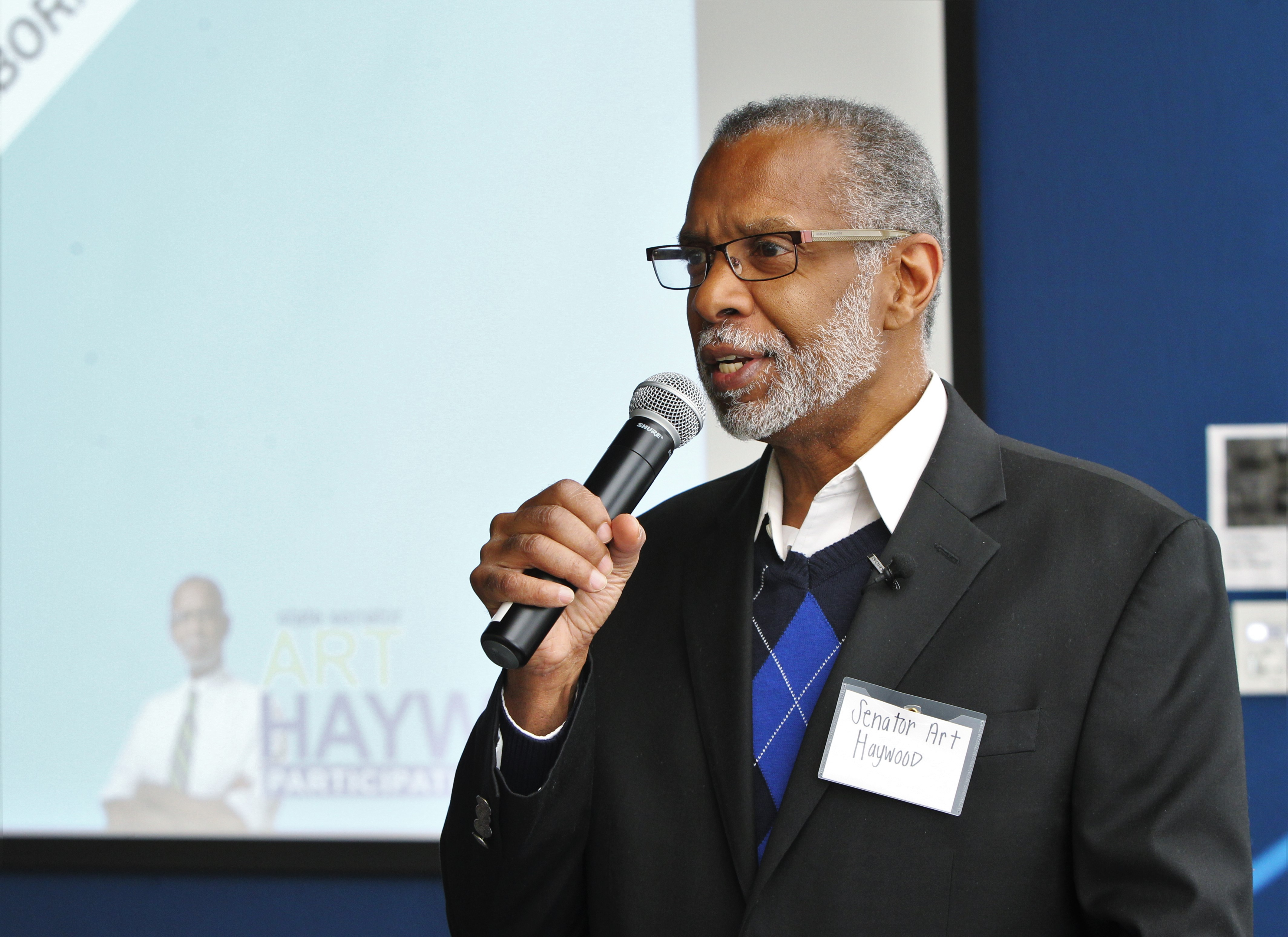 January 26, 2019: Senator Art Haywood hosts his 3rd annual Mentoring Conference at La Salle University.