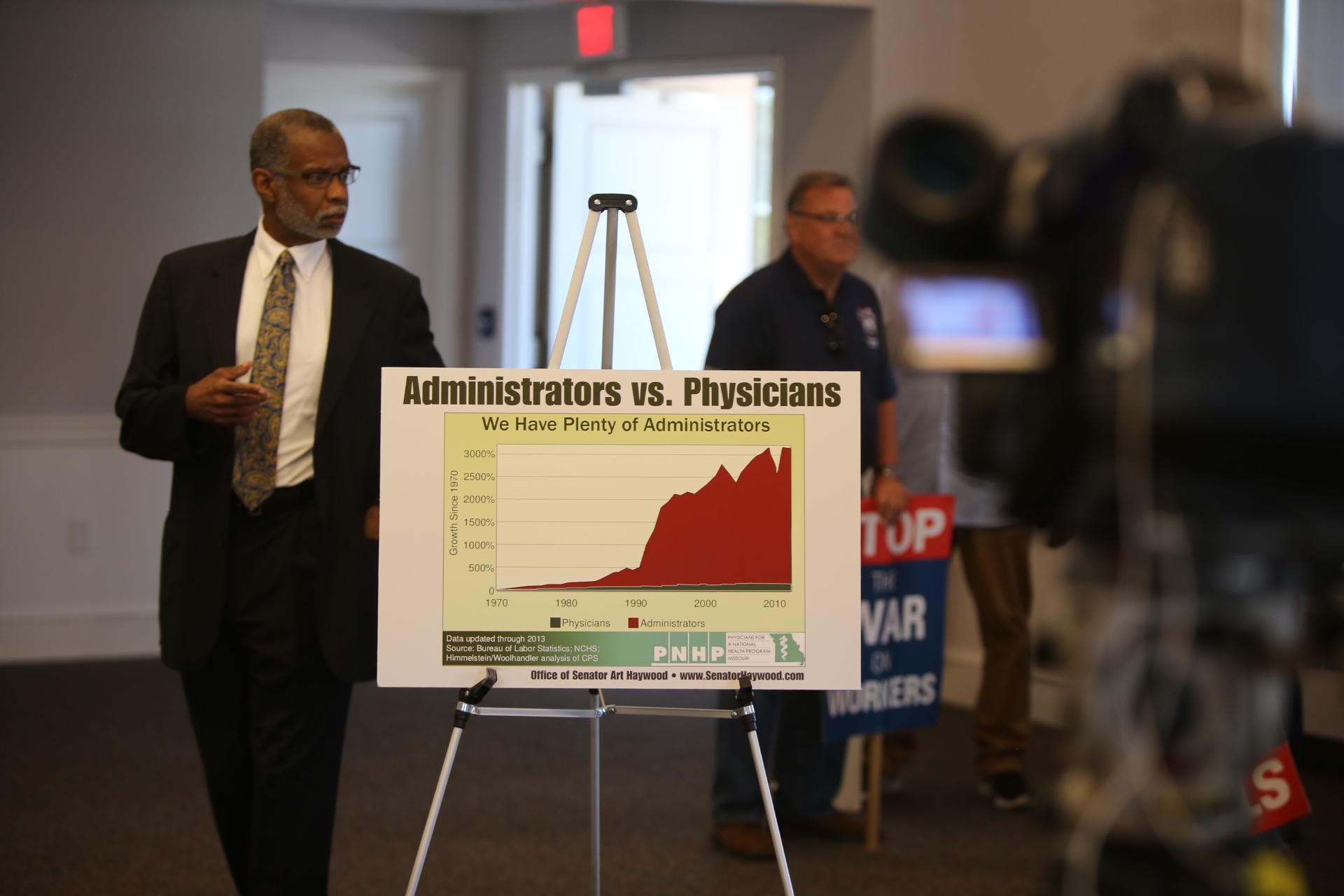 Senator Art Haywood Announces Plans to Introduce Single-Payer Healthcare Legislation in Pennsylvania State Senate