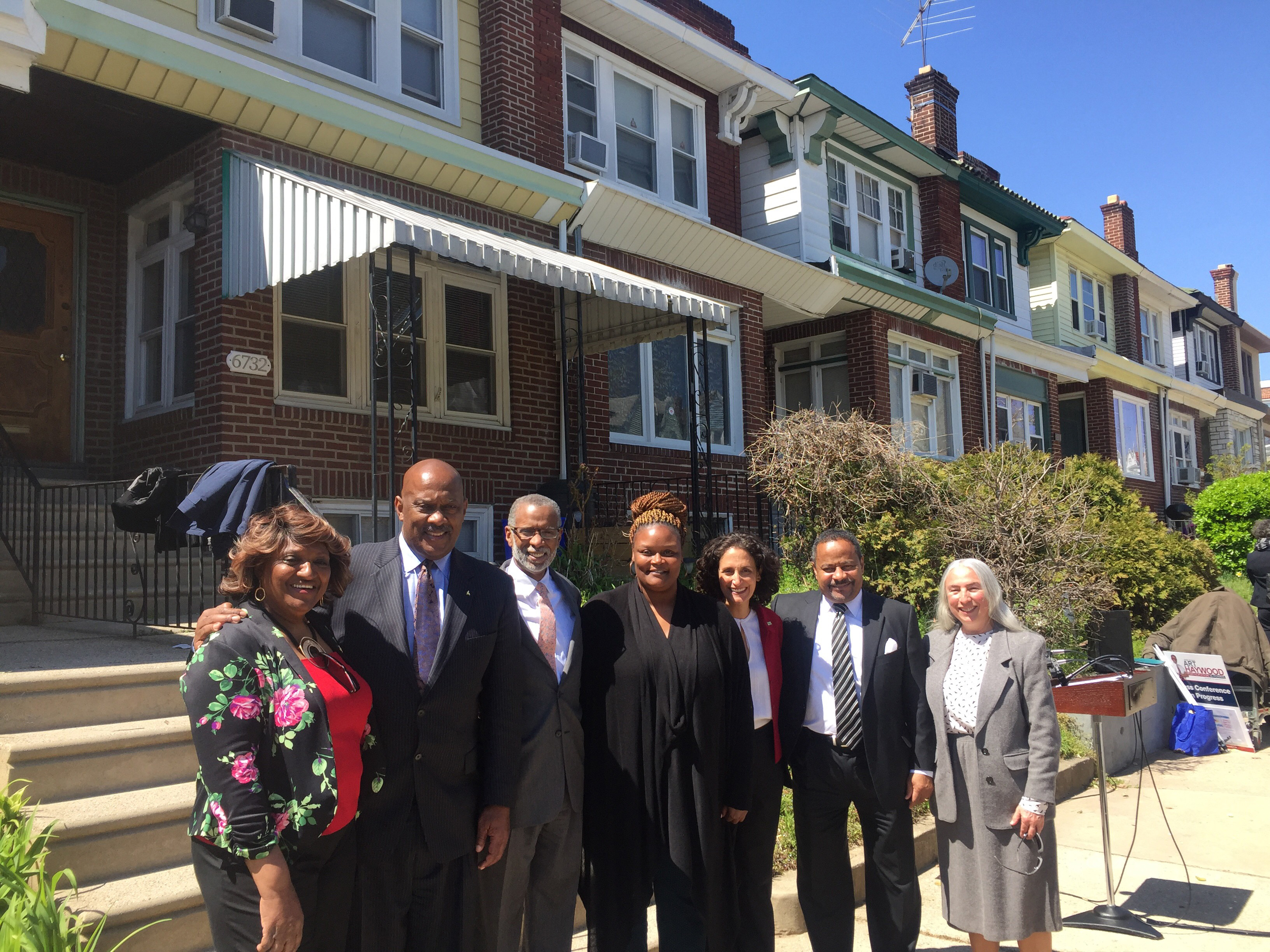 April 20, 2018: Haywood News Conference on Grant Award to Middle Neighborhoods