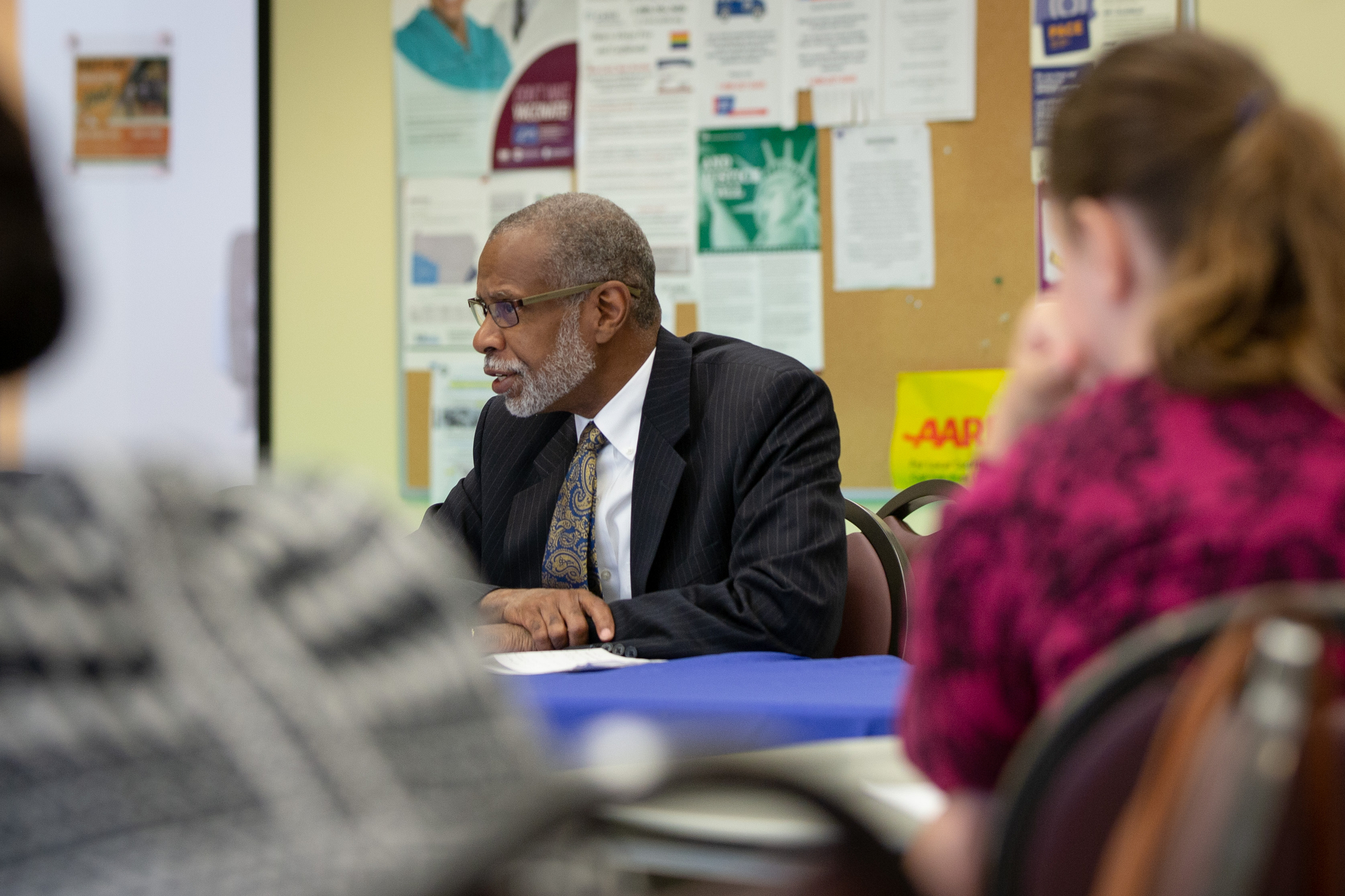 May 24, 2019: Senator Haywood makes his second stop on his 5-stop Poverty Listening Tour. City, small towns, and rural folks share the real experiences of living in poverty and the struggle to break the cycle.