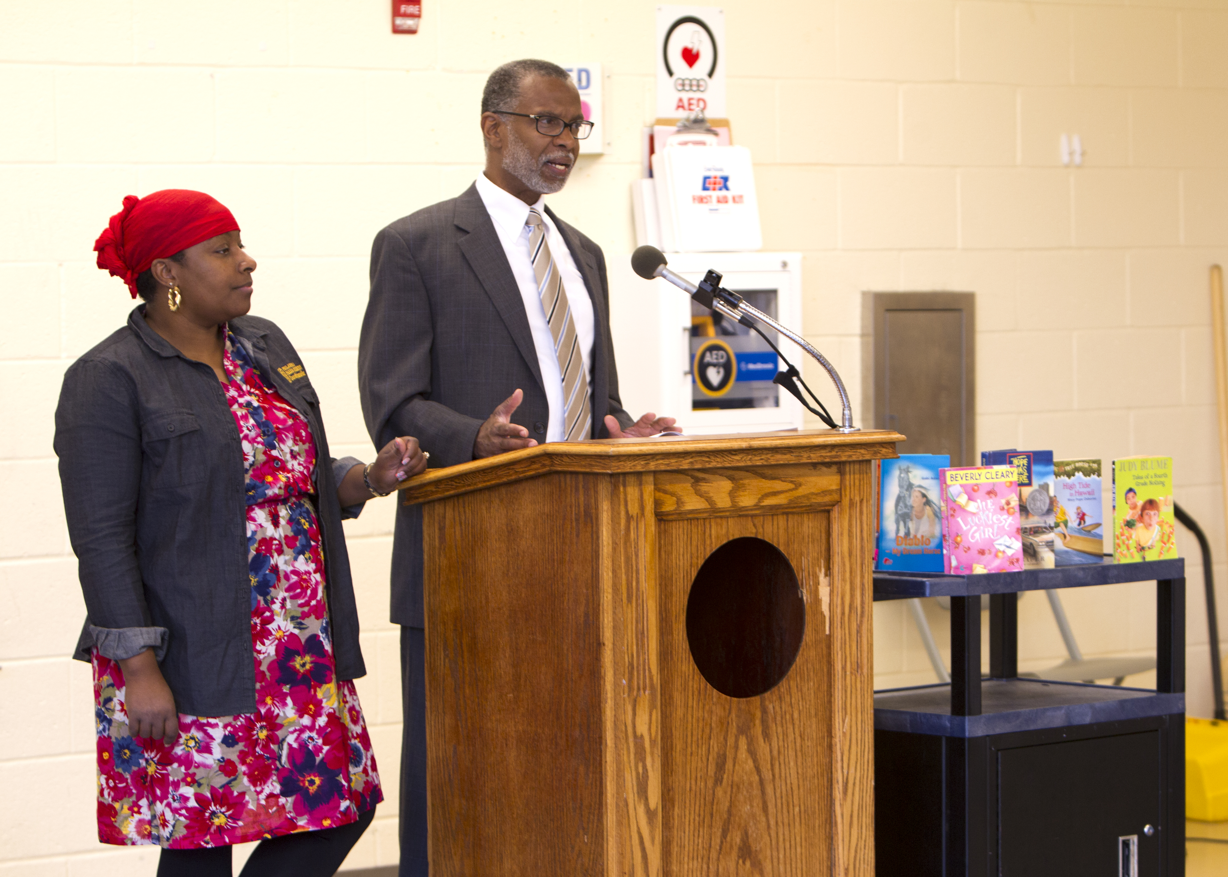 July 7, 2015: Reading Revolution Press Conference at Dorothy Emanuel Recreation Center