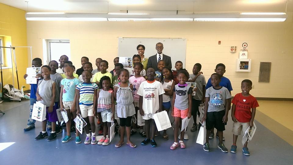 August 14, 2015: Reading Revolution Summer Camp Closing Ceremony