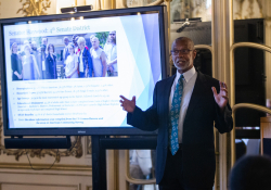 July 21, 2019: Sen. Haywood hosts a breakfast at Arcadia University today to provide community leaders with an update on what is happening in Harrisburg and to take questions about what's next.