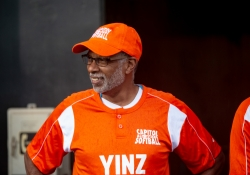 September 24, 2018: Senator Art Haywood participates in the 3rd annual Capitol All-Stars Game to fight hunger.