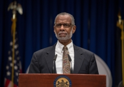 October 17, 2018: Sen. Haywood Aside Fellow Legislators Addressed Lead in Pennsylvania Schools at State Capitol News Conference