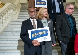 October 17, 2018: Senator Art Haywood,  candidates for the Pennsylvania General Assembly from across the state, both challengers and incumbents, joined We The People - Pennsylvania Action to endorse the We The People policy agenda.