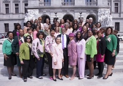 April 13, 2015: The Alpha Kappa Alpha sorority visited Harrisburg to lobby for SB400, my independent prosecutor bill to restore trust in our judicial system.