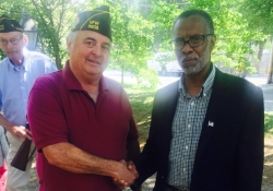 May 25, 2015: Observing Memorial Day with VFW 5205