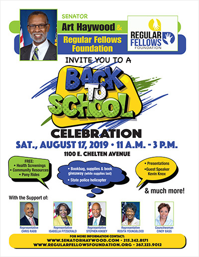 Back to School Celebration - August 17
