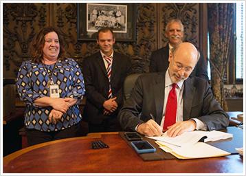 Budget Bill Signing