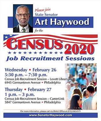 Census Job Recruitment Sessions