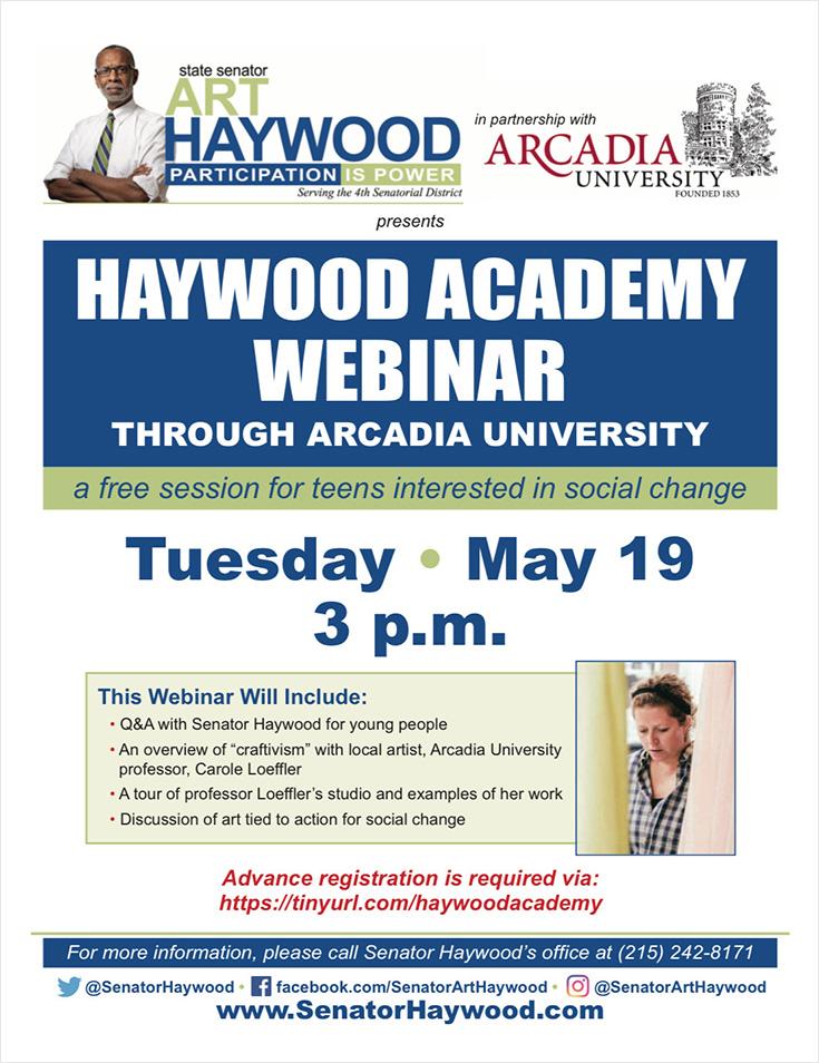 Haywood Academy Webinar
