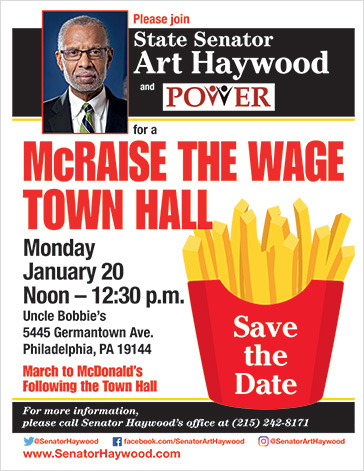 McRaise the Wage Town Hall