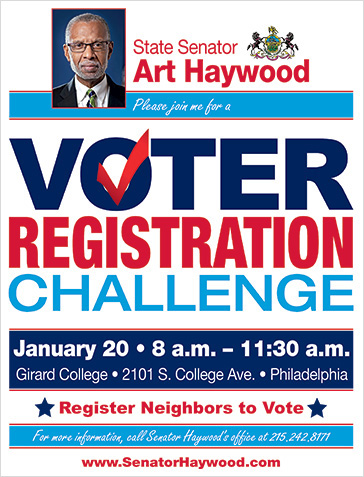 Voter Registration Challenge Event