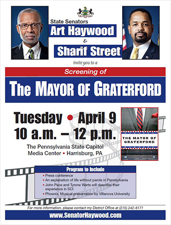 Mayor of Graterford Press Conference and Screening