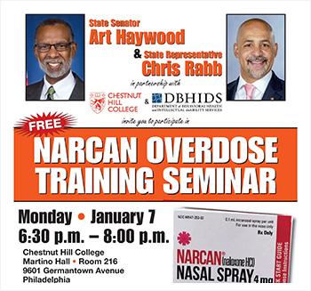 Narcan Overdose Training Seminar