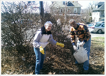 Neighborhood clean-up days