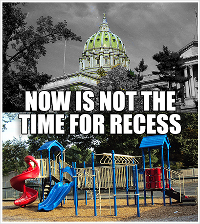 Now is NOT the time for Recess