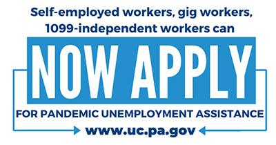 Pandemic Unemployment Assistance (PUA) - Apply Now