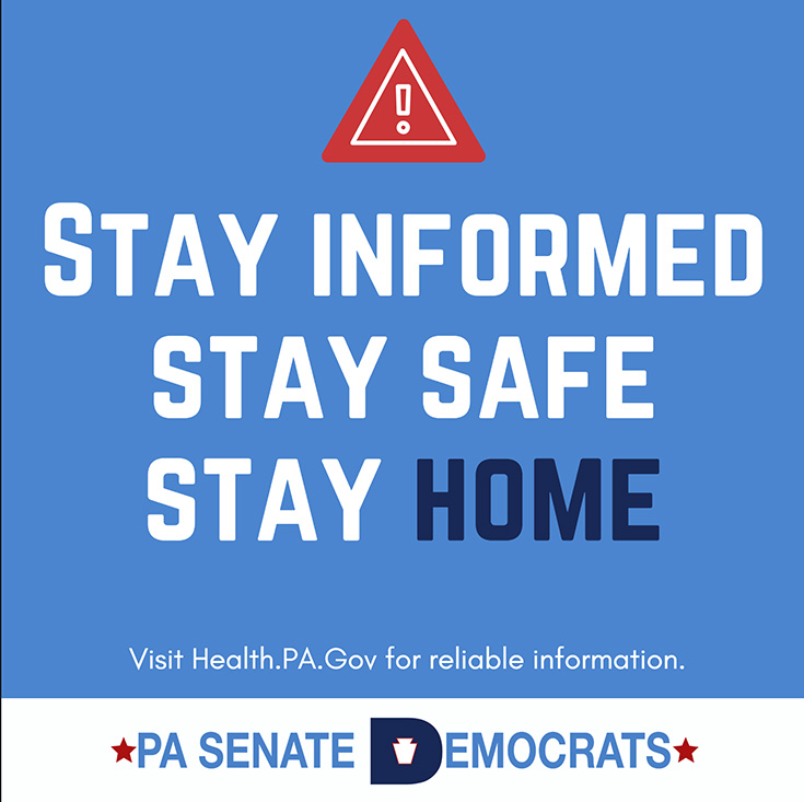 Stay Informed, Stay Safe and Stay Home