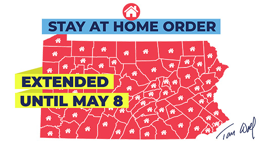 Stay At Home - May 8th