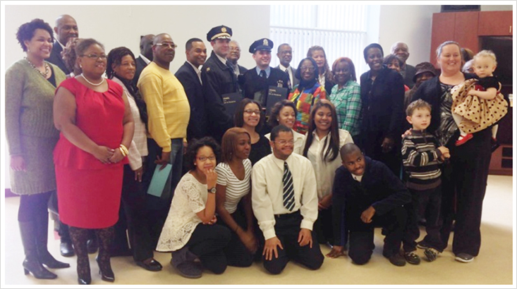 I had the honor of joining with neighbors at West Oak Lane Senior Center at an event sponsored by West Oak Lane Business Association to honor some of our local law enforcement officers on Martin Luther King Day