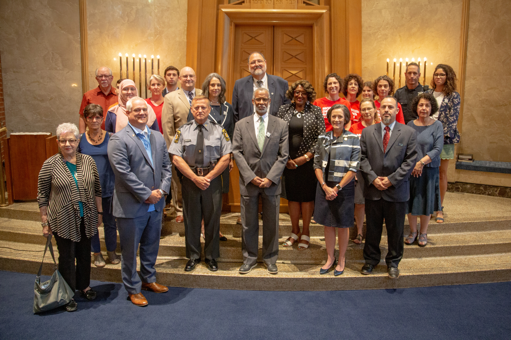 August 15, 2019: Senator Art Haywood Hosts 'No Place for Hate' Press Conference