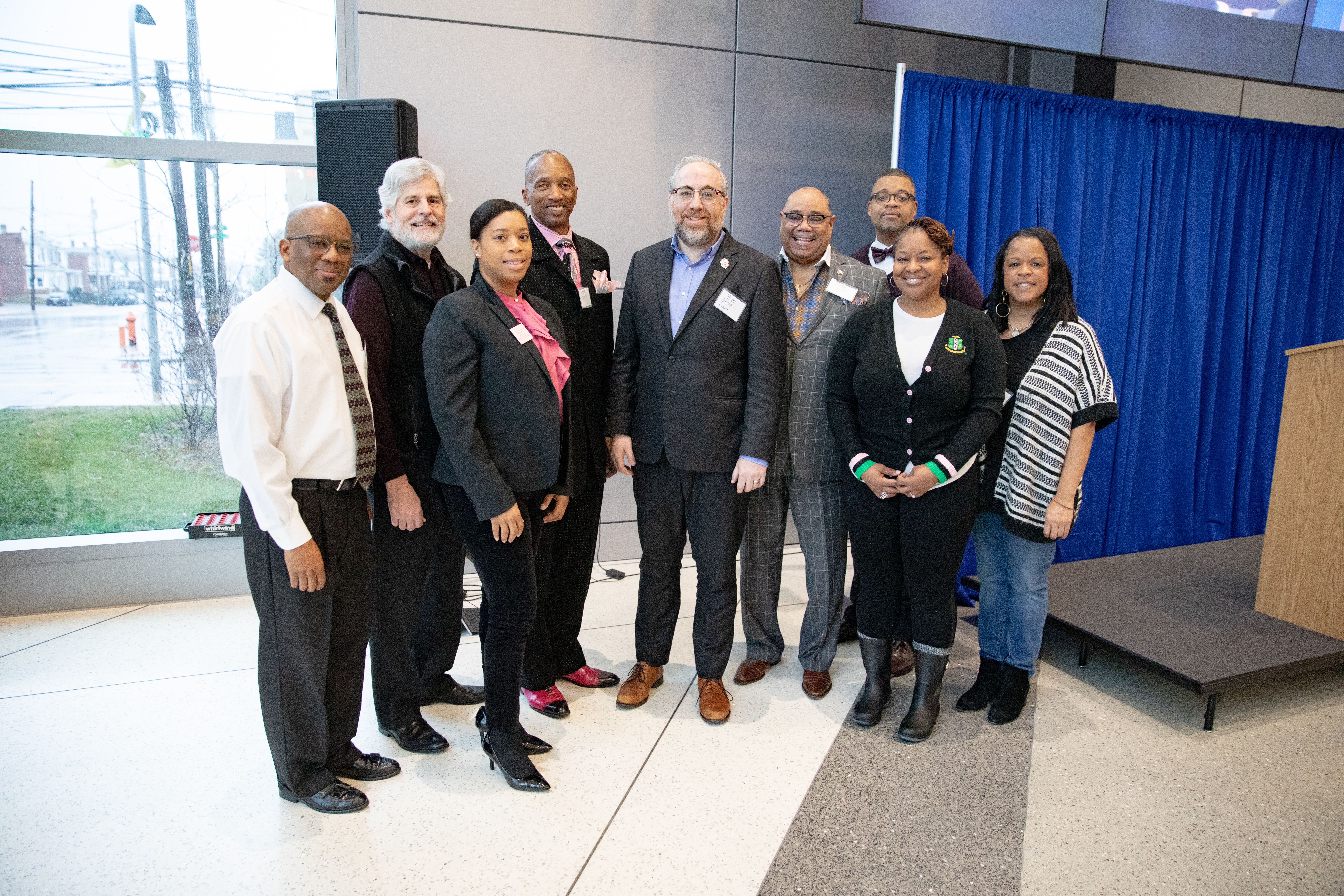 January 25, 2020:  Senator Art Haywood hosts aannual Mentoring Conference..