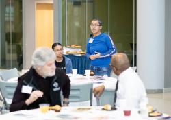 January 25, 2020:  Senator Art Haywood hosts aannual Mentoring Conference..