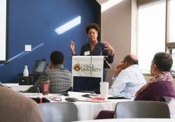 Building a Quality and Effective Mentoring Program with Senator Art Haywood (D-Philadelphia/Montgomery) Jan. 28, 2018. James Robinson | Pennsylvania Senate Democratic Caucus