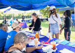August 14, 2021: Sen. Haywood held his 5th annual Back to School Celebration in conjunction with the Regular Fellows Foundation.
