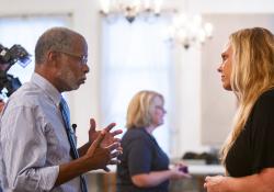 September 16, 2019:  Senator Art Haywood & Representative Ben Sanchez host an Open House on Addiction at the New Life Presbyterian Church.