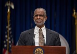 October 17, 2018: Sen. Haywood Aside Fellow Legislators Addressed Lead in Pennsylvania Schools at State Capitol News Conference