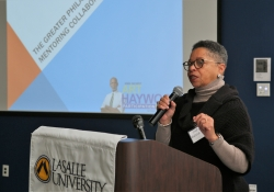 January 26, 2019: Senator Art Haywood hosts his 3rd annual Mentoring Conference at La Salle University.