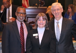 April 22, 2015: Honoring Siobhan Reardon, President and Director of the Free Library of Philadelphia, with a citation as Librarian of the Year.