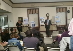 April 2, 2015: Leading a Budget Briefing Townhall in Abington.