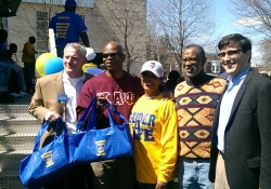 April 11, 2015: I joined Rep. Steve Kinsey, Councilwoman Bass and many other community members to congratulate the Northwest Raiders on their national championship at Lonnie Young Recreation Center in Germantown.
