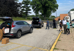 June 19, 2021: Senator Art Haywood and State Rep. Napoleon Nelson hosted  a free Drop & Roll Shredding Event in the parking lot of Cheltenham High School, located at 500 Rices Mill Road, Wyncote, PA 19095. Staff members shredded up to two small bags or boxes of documents for 143 neighbors at this drive-through event.