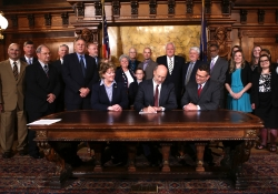 May 17, 2016: Senator Haywood joins Governor Wolf for the signing of the CARE Act that will empower caregivers to help loved ones.