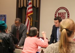 """January 22, 2015: The League of Women Voters """"Meet Your Legislators"""" event was a great opportunity to learn more about my constituents' priorities."""