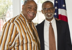 July 22, 2015: Philadelphia District Office Opening with my Chief of Staff, Dwight Lewis