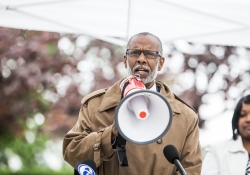 May 17, 2018: Senator Haywood joins colleagues and fair pay activists to urge lawmakers to raise the wage at a Rally in Norristown, PA.