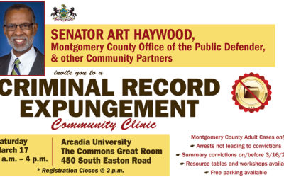 Senator Haywood to Host Expungement Clinic with Community Partners