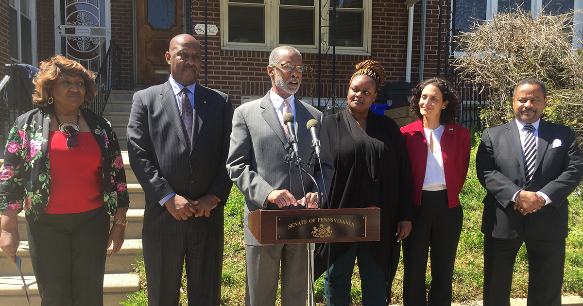 Haywood News Conference on Grant Award to Middle Neighborhoods